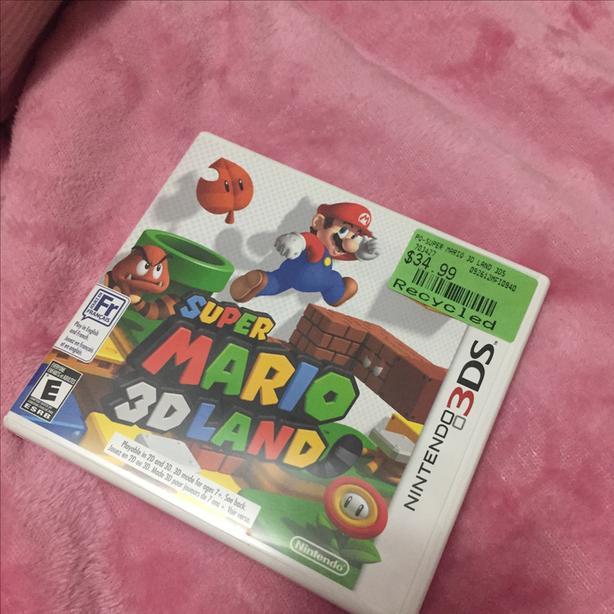 Mario 3D world 3DS