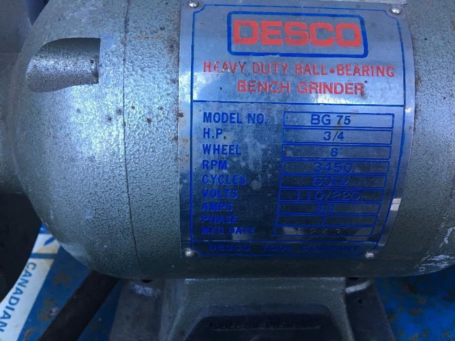 Bench Grinder Central Saanich Victoria