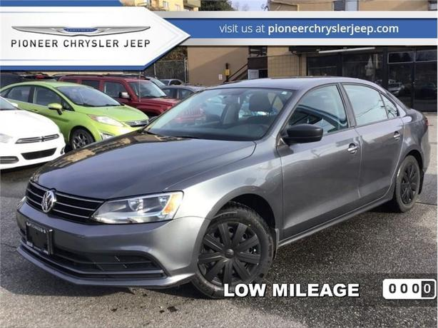 2015 Volkswagen Jetta 1.8 TSI Comfortline  -Manual -Rear view camera