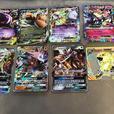 11 Jumbo Pokemon cards