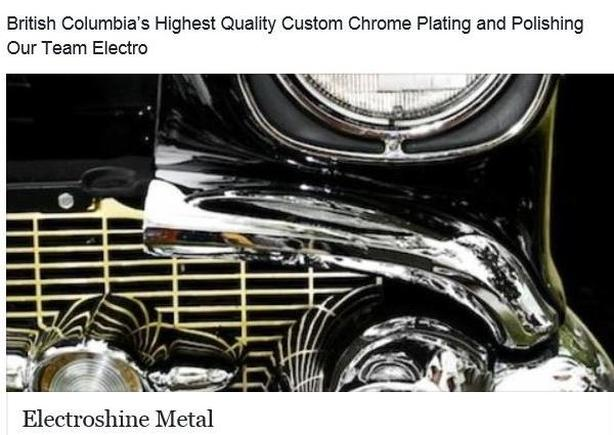 Experienced Chrome Polisher Outside Metro Vancouver, Vancouver