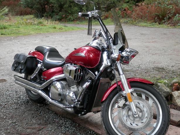2005 VTX 1300 Honda Malahat (including Shawnigan Lake & Mill