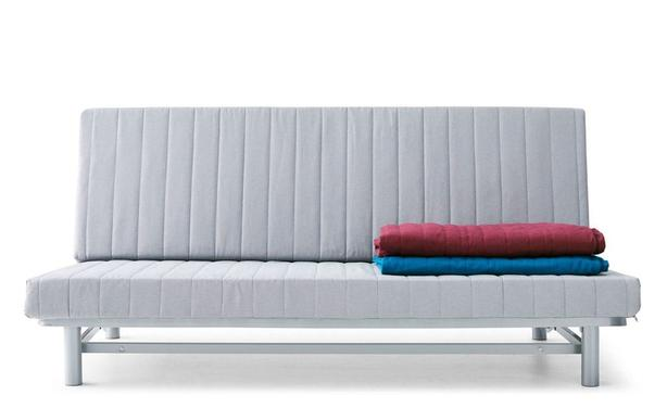 online store 50b41 fe6fa Ikea Beddinge Futon frame WITH comfy mattress (Double/Queen ...
