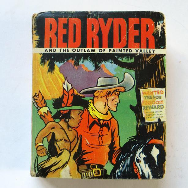 """1943 - """"Red Ryder"""" and the Outlaw of Painted Valley #1475"""