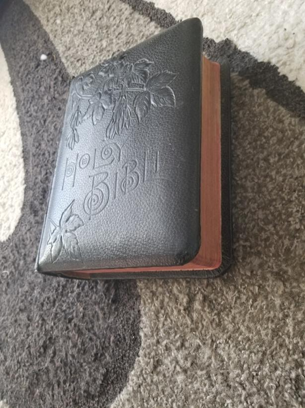 1891 old bible for sale