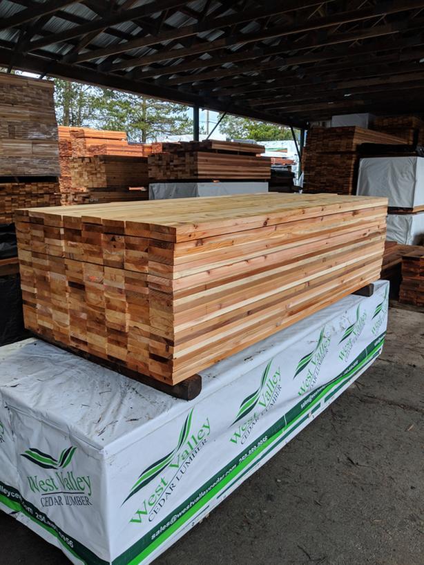 Cedar Tight Knot 5/4 x 6 EE Decking