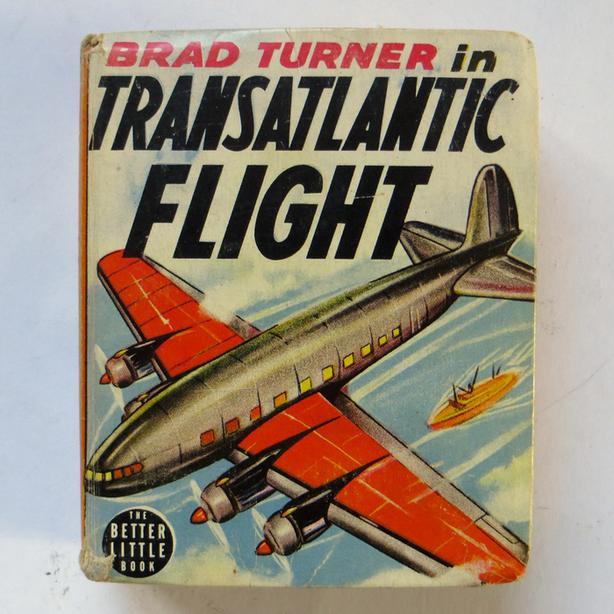 """1936 Brad Turner in """"Transatlantic Flight"""""""