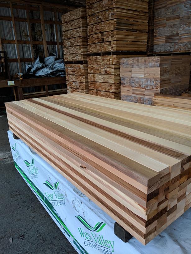 Cedar 2x4 S4S Presitge