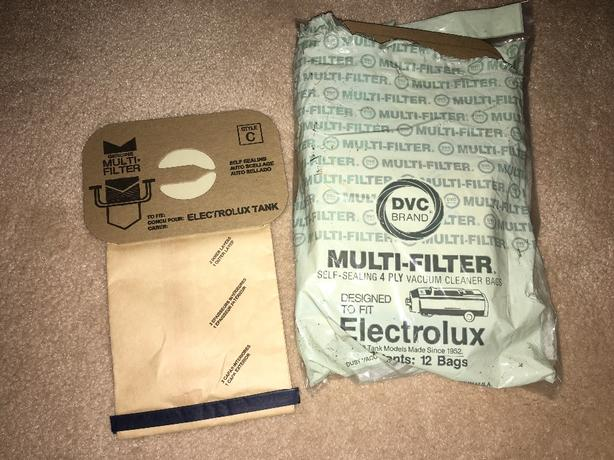 Electrolux vacuum cleaner bags: 10 brand new in package