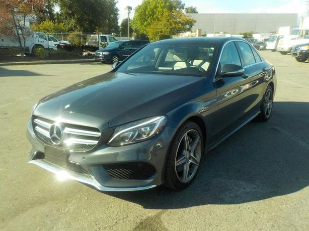 2015 Mercedes-Benz C-Class C300 4MATIC Sedan Premium sport package