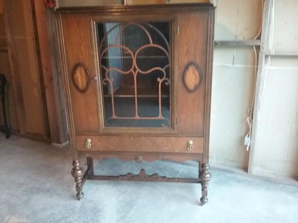 Antique China cabinet.