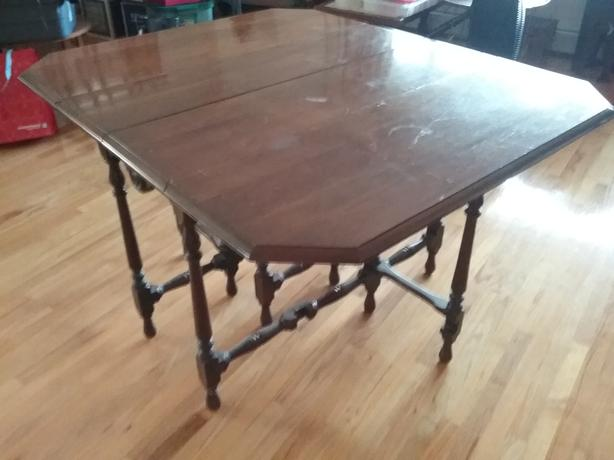 Antique gated table.