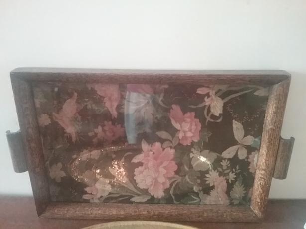 Antique tray.