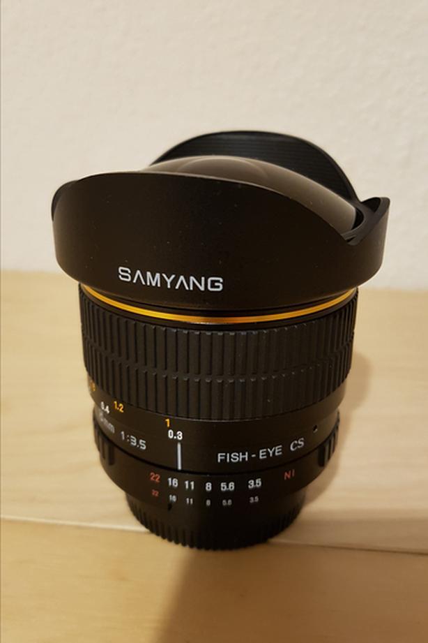 Samyang 8mm F3.5 Ultra Wide Fisheye Lens for Nikon