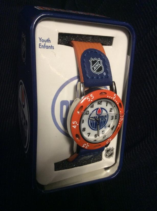 NHL Edmonton Oilers Youth Watch NEW IN PACKAGE