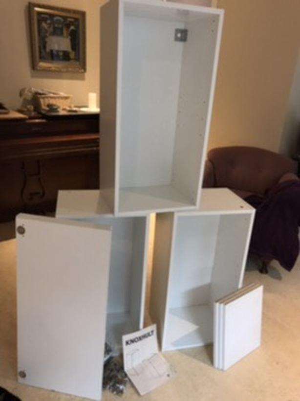 Swell Log In Needed 40 Three White Ikea Wall Mount Cabinets Slight Water Damage Complete Home Design Collection Epsylindsey Bellcom