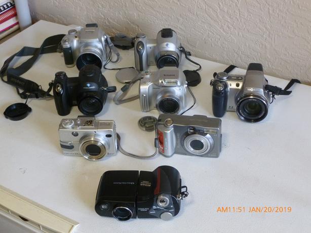 Lot Sale of ProAM digital cameras