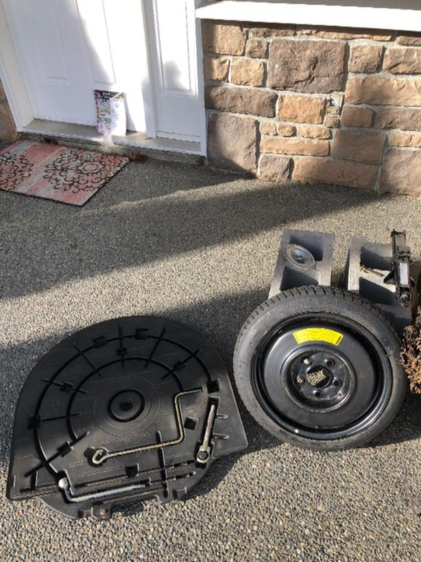  Log In needed $50 · Jack, tire iron, spare tite for Mazda 3
