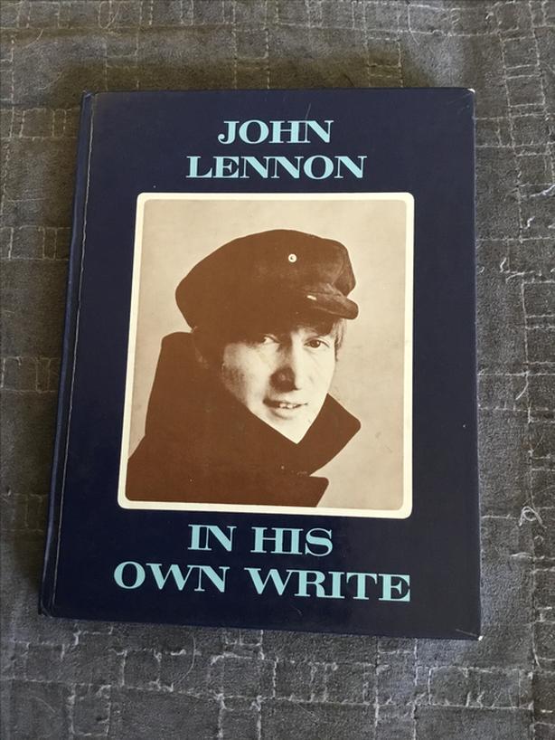 John Lennon Beatles in his own write UK HC book 1965