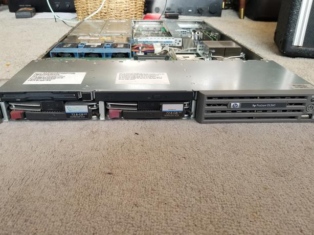 HP DL360G4 Server