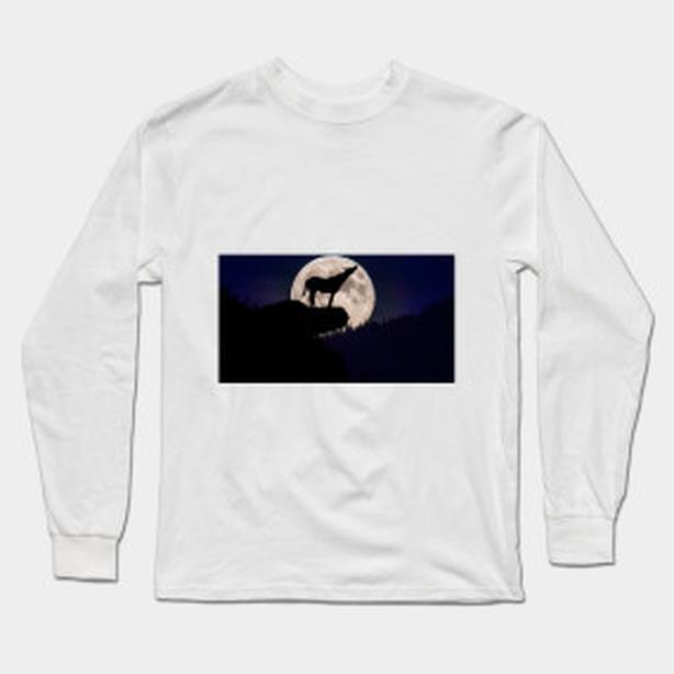 Howl at the Moon, long sleeve shirt, GREAT NEW DESIGN