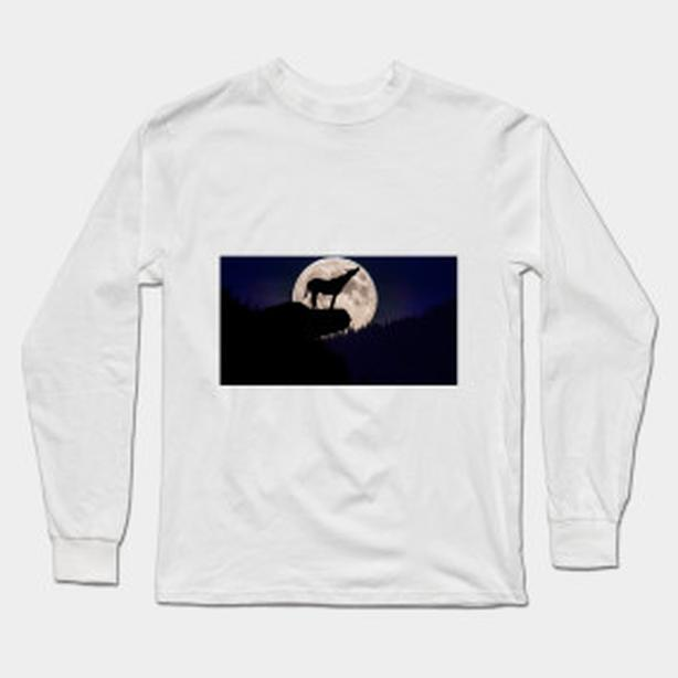 Howl at the Moon, long sleeve shirt, GREAT NEW DESIGN