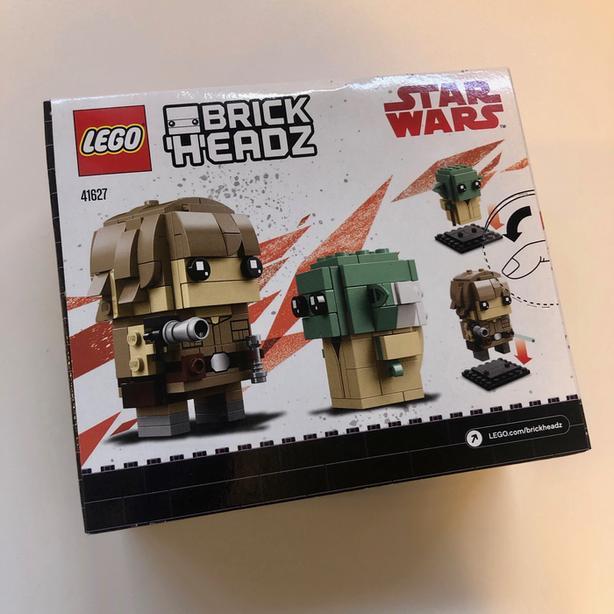 Luke & Yoda BrickHeadz (41627)