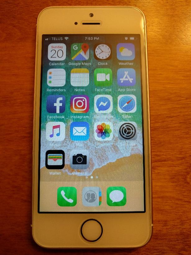 Iphone Se 32gb Rose Gold Unlocked Mint Condition Case Charger West