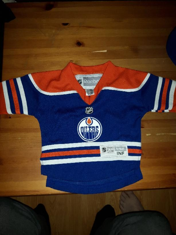 Oilers Jersey 12-18 months