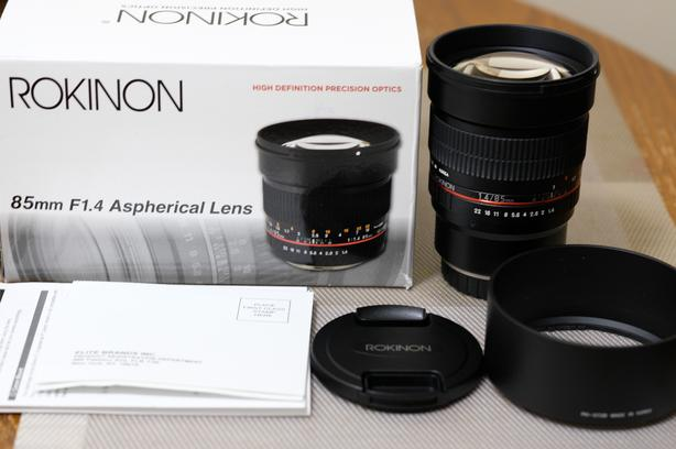 rokinon 85mm f1.4 lens for fuji x mount cameras