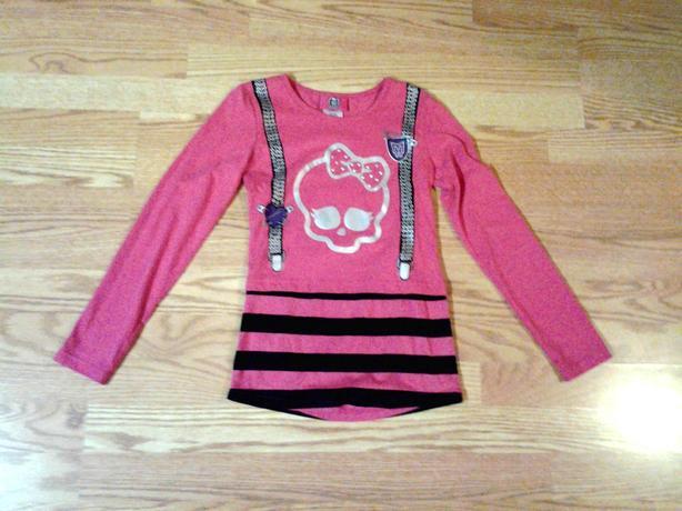 New Monster High Shirt Pink Size 7-8 - $5