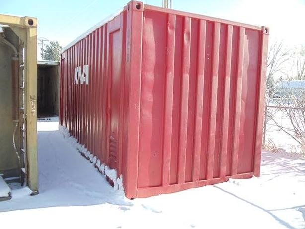 20' Sea Shipping container solution