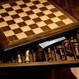 Chess & Checker game board