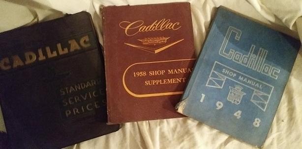 Vintage Cadillac Shop Manuals