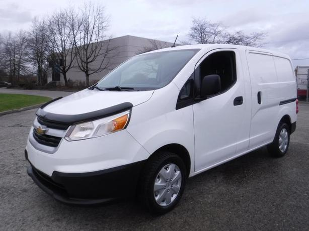 2015 Chevrolet City Express 1LT Cargo Van with Bulkhead Divider