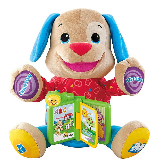 Fisher Price Storytime Puppy - FRENCH