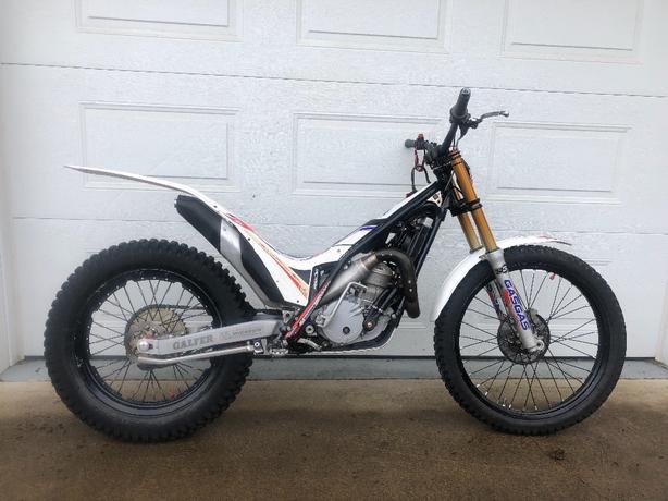 2014 GASGAS TXT REPLICA 250cc trials motorcycle