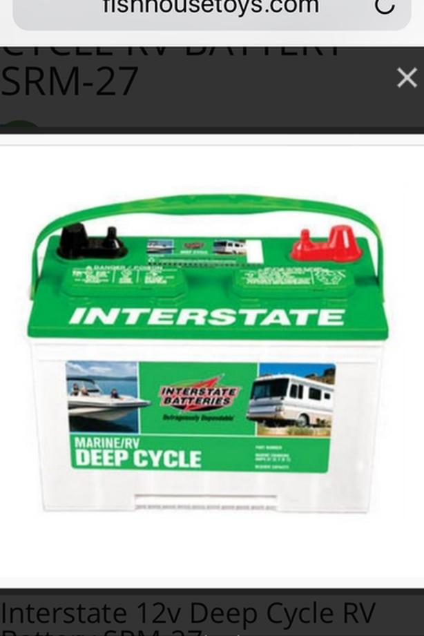 New Interstate deep cycle battery Victoria City, Victoria
