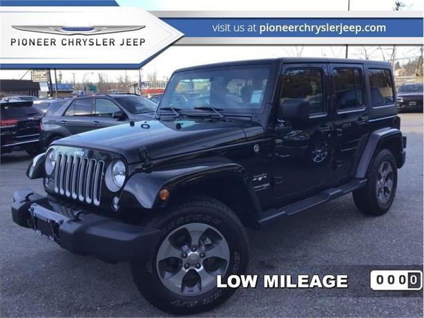 2018 Jeep Wrangler Unlimited Sahara  -Navi -$241/bw