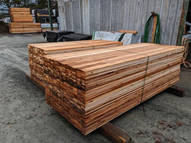 Cedar 1x4 S1S Tight Knot