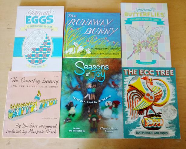 Easter/Spring book lot