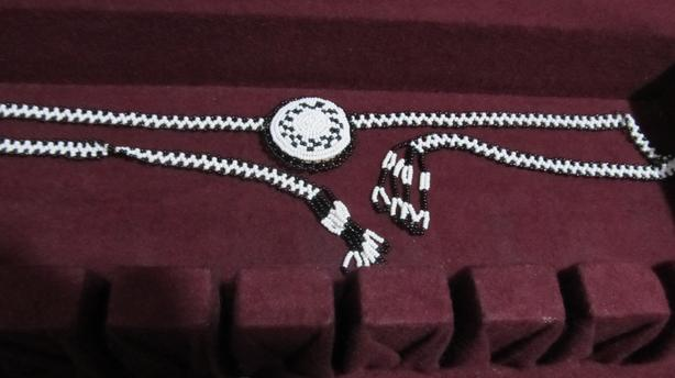 FIRST NATIONS BEAD CHOKERS