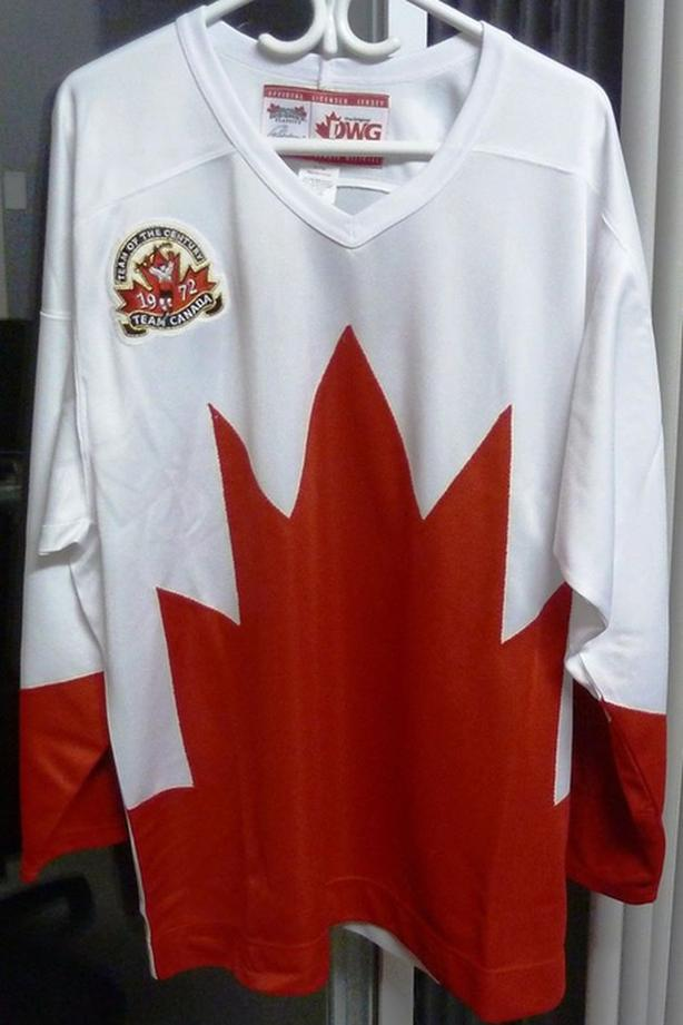 Replica 1972 Team Canada Official Licensed Jersey Paul Henderson Authentic