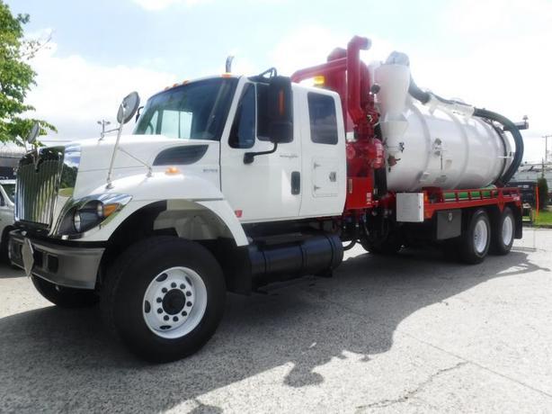 2011 International 7500 Diesel Vac Tanker Air Brakes