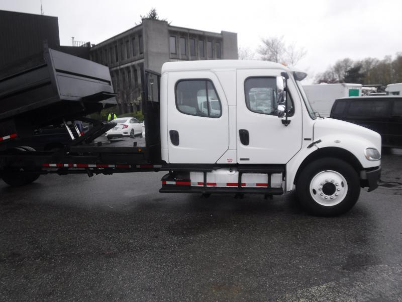 Maple Ridge Dump >> 2007 Freightliner M2 106 Crew Cab 20 Foot Flat Deck Diesel Dump Truck Air Brakes Outside Comox ...