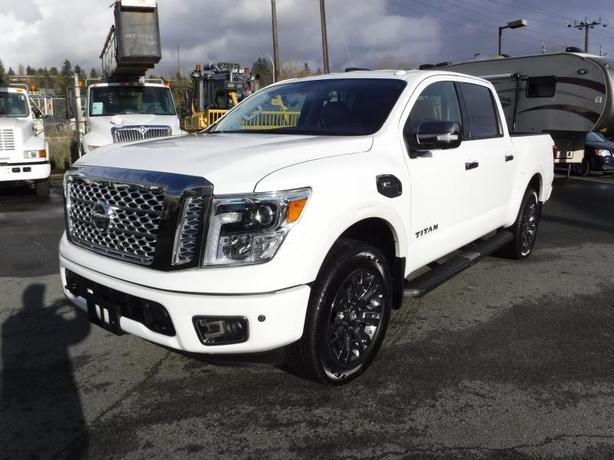 2017 Nissan Titan Platinum Reserve Crew Cab 4WD