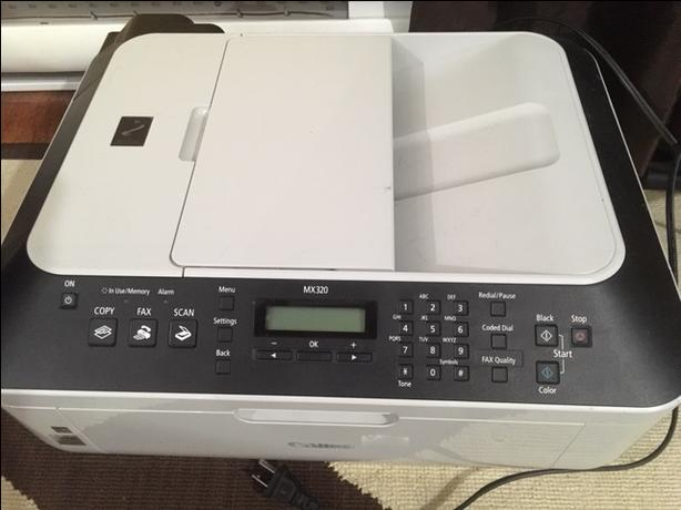 FREE: Canon PIXMA MX320 All-In-One Office Inkjet Photo