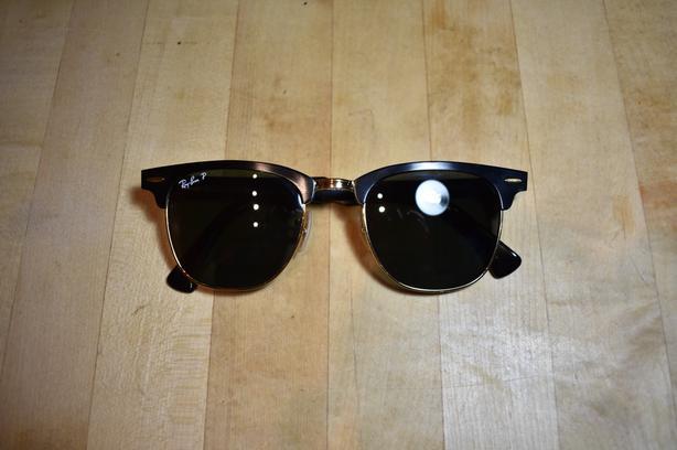 b28d80910d3 Ray-Ban Clubmaster Aluminum Polarized Sunglasses Victoria City