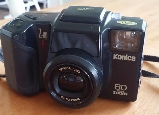 Konica Z-Up 80 35mm Film Camera