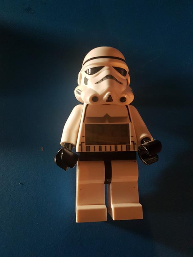 Stormtrooper Lego clock
